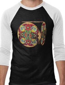 Stain Glass B Men's Baseball ¾ T-Shirt