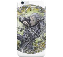 Warrior of Mirkwood iPhone Case/Skin