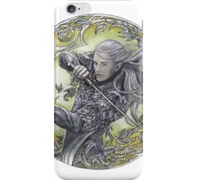 Warrior of Mirkwood iPhone Case/Skin