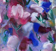 Sweet Peas by Maria Louise Moore