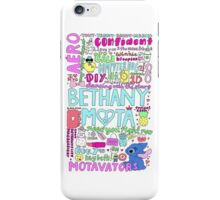 Bethany Mota Collage iPhone Case/Skin