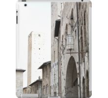 What These Walls Have Seen - Tuscany iPad Case/Skin