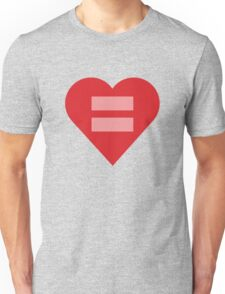 Equal Love Heart Unisex T-Shirt