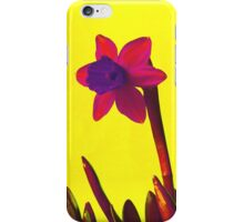 Daffodil Pink with Orange iPhone Case/Skin