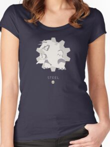 Pokemon Type - Steel Women's Fitted Scoop T-Shirt