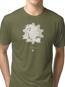 Pokemon Type - Steel Tri-blend T-Shirt