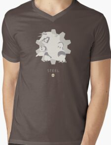 Pokemon Type - Steel Mens V-Neck T-Shirt