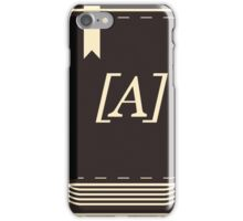 antho book 3 iPhone Case/Skin