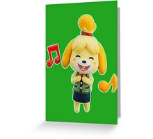 Nendoroid Isabelle (Summer) Greeting Card
