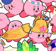 Kirbys!  Sticker