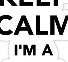 Keep calm I'm a beekeeper Sticker
