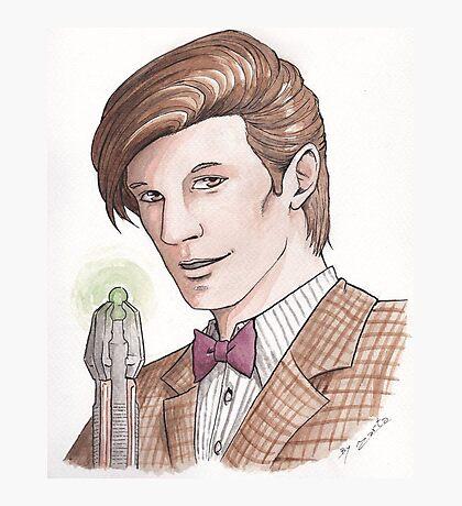 "Eleventh Doctor say ""Geronimo!"" Photographic Print"