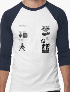 Daxter Quotes Men's Baseball ¾ T-Shirt