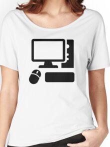 Desktop computer Women's Relaxed Fit T-Shirt