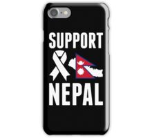 Support Nepal iPhone Case/Skin