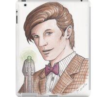 "Eleventh Doctor say ""Geronimo!"" iPad Case/Skin"