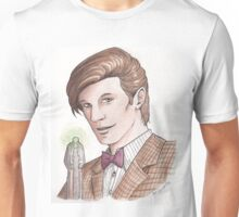 "Eleventh Doctor say ""Geronimo!"" Unisex T-Shirt"