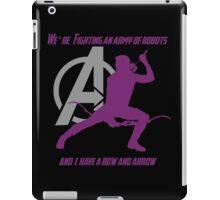 Hawkeye in The Avengers iPad Case/Skin
