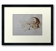 Watercolour Figure from Life Framed Print