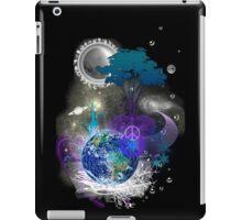 Cosmic geometric peace iPad Case/Skin