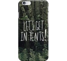 In Tents! iPhone Case/Skin