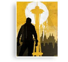 ISS - Space Needle Canvas Print