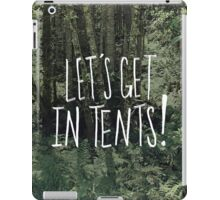 In Tents! iPad Case/Skin