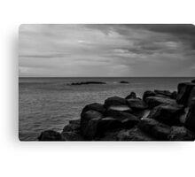 Sky, Sea and Stone Canvas Print
