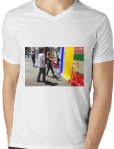 Shadow Steppin' Mens V-Neck T-Shirt