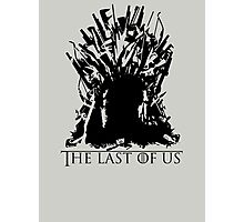 The last of Thrones Photographic Print