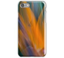 No longer earthbound, a soul takes flight iPhone Case/Skin