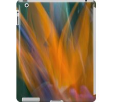 No longer earthbound, a soul takes flight iPad Case/Skin