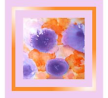 Flora Abstract Scarf Photographic Print