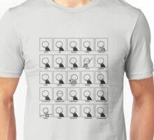 Stickman Expressions Unisex T-Shirt