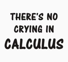 There's No Crying In Calculus by evahhamilton