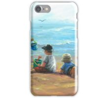 THREE LITTLE BEACH BOYS I iPhone Case/Skin