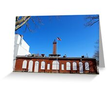Nikola Tesla - Wardenclyffe Laboratory Building | Shoreham, New York  Greeting Card