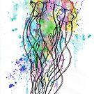 Watercolour Jellyfish by FaerieMajikk