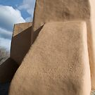 Rear Buttress, San Francisco de Asis Church, Ranchos de Taos by Mitchell Tillison