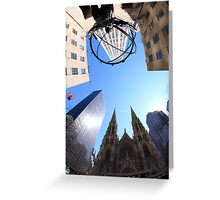 5th Avenue Greeting Card