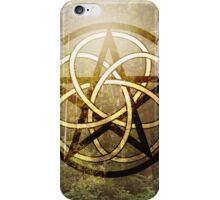 Pentacle of the Forest iPhone Case/Skin