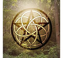 Pentacle of the Forest Photographic Print