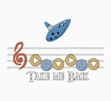 Song of Time- Take me Back Kids Tee