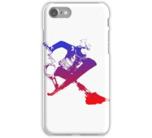 Shulk Super Smash Bros X Final Fantasy Logo (No Name) iPhone Case/Skin
