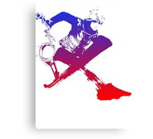 Shulk Super Smash Bros X Final Fantasy Logo (No Name) Canvas Print