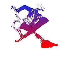 Shulk Super Smash Bros X Final Fantasy Logo (No Name) Photographic Print