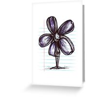 Wrapped Up Flowerkid Greeting Card