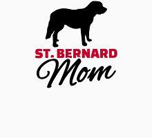 St. Bernard Mom Womens Fitted T-Shirt