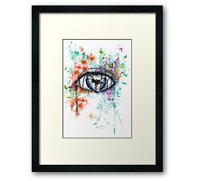 Blind Eye Framed Print