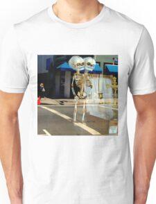 Look Both Ways When Crossing Unisex T-Shirt